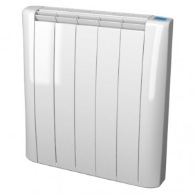 Wall mounted Sira Onyx Electric Radiator 1600W 8 elements