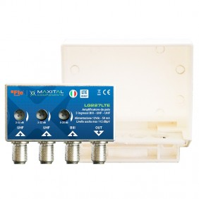 Pole Amplifier FTE 3 VHF 2UHF 22DB LG227LTE 2UHF Input Amplifier