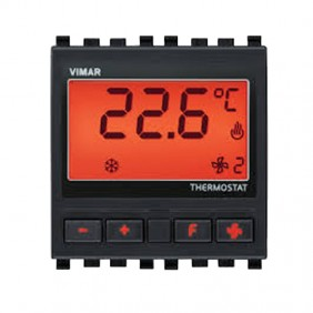Vimar KNX electronic room thermostat colour Grey 20430