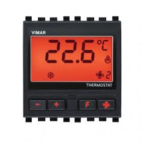 Vimar KNX termostato electrónico de habitación color Gris 20430