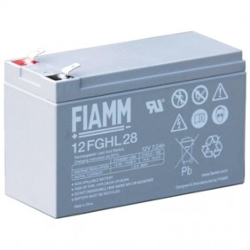 Fiamm 12V 7.2AH battery for UPS 12FGHL28