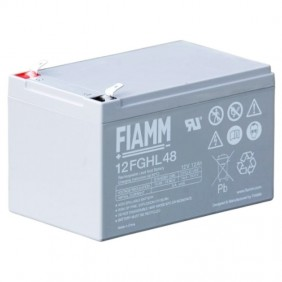 Fiamm 12V 12AH battery for UPS 12FGHL48