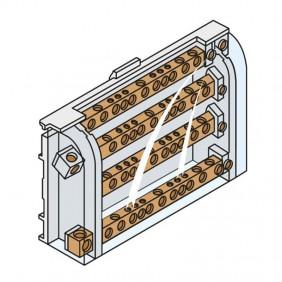 Modular Terminal Block Connector ABB 160A 4 Poles AD1027