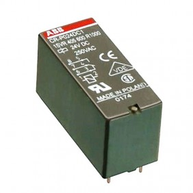 Mini Relay Abb 24VDC 2 exchange contacts, 8A, 250V ER 521 5
