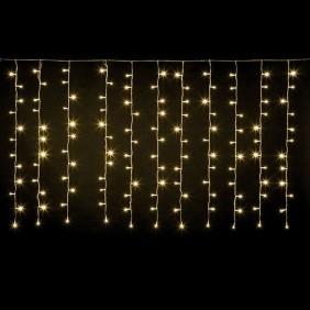 Tenda Natalizia a LED Wimex luce calda warm+FLASH 4501170
