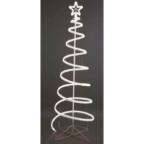 Spiral Christmas Tree Giocoplast Neon White fixed light 180 cm 31812284