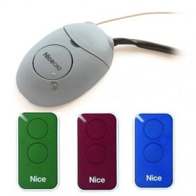 KIT Récepteur Nice avec 3 télécommandes 2 canaux INTIKIT