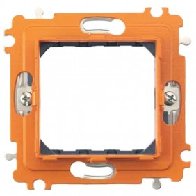 Support Bticino Axolute 2 modules with screws...