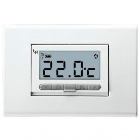 Thermostat d'ambiance numérique intégré BPT TA-350 Blanc 69400010