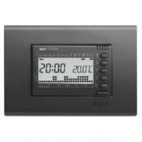 Built-in digital chronothermostat BPT TH/345 Grey 69405400