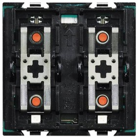 Bticino Axolute actuator control 2 relays H4672M2