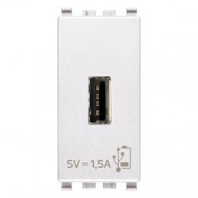 Vimar Eikon 5V1,5A USB plug White 20292.