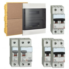 KIT Basic Bticino built-in switchboard for residential systems