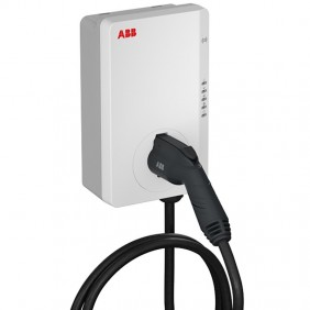 AC Wallbox Abb Single-phase 7.4KW ground loader with T2 connector 6AGC082155