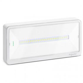 Lampada di Emergenza a Parete Schneider EXW LIGHT 110 SE/SA IP42 OVA44010