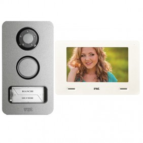 Urmet Mini Note 2-Wire Single-Wire Mikra and Monitor 7 Inch 1722/85 Video Doorphone Kit