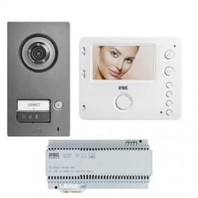 Urmet Single-Family Kit with Mikra2 and Miro Handsfree Monitor 1784/771