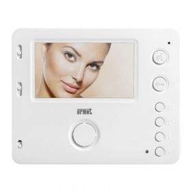 Urmet Miro white 2-wire colour video door phone 1722/88