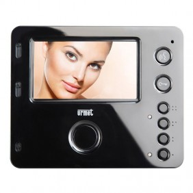 Videointercomunicador Urmet Mìro 2 Monitor de voz 4.3 Altavoz color Negro 1750/15