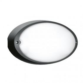 Lombardo Airy Oval Black E27 E27 IP54 LB82122...