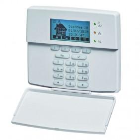 LCD control keyboard for burglar alarm systems 1068/021