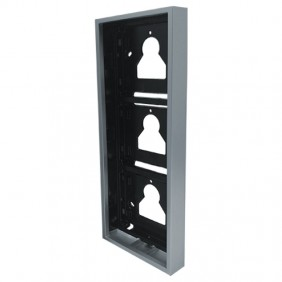 Comelit wall-mounted housing 3 modules for Ultra push-button panel UT9173