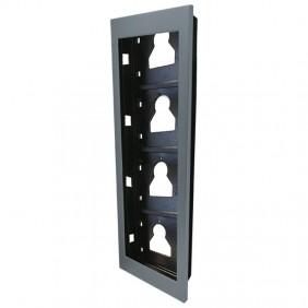 Comelit flush-mounting frame 4 modules for Ultra UT9164 push-button panel