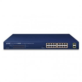 GSW-1820HP 4Power 16 Ports 10/100/1000 802.3AT POE Switch
