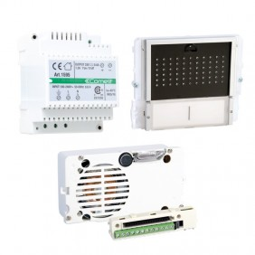 Comelit intercom kit for audio system base with ikall push-button panel