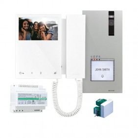 Comelit 2-wire single-family video entryphone...