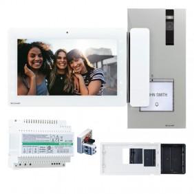 Kit Videocitofono monofamiliare Comelit 2 fili...