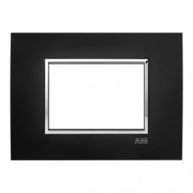 Abb Mylos placca Square Velvet 3 moduli...