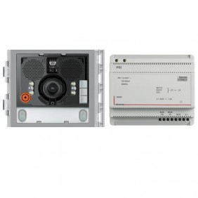 Bticino condominium audio and video intercom kit Sfera 360001