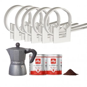 KIT Elematic 1000 Fascette CT-CLIP 16-32 e Set Macchina caffè KITCTCLIP-320