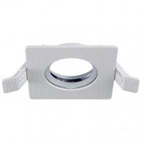 Duralamp Square recessed spotlight white IP65 ZKR65QB