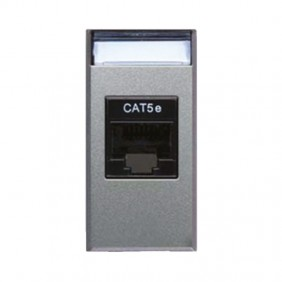 Outlet Data, Ave Allumia System 44 cat5E RJ45 443027C5E