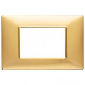 Vimar Plana placca 3 moduli colore oro opaco...