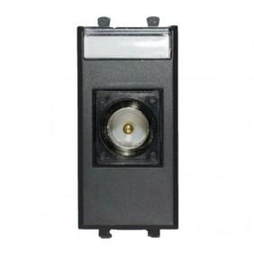 Outlet Ave Tekla TV/SAT, direct black 1 module 445096IM