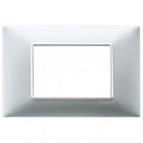 Vimar Plana placca 3 moduli colore argento...
