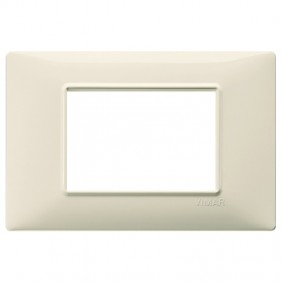 VIMAR PLANA PLAQUE 3 MODULES IN BEIGE
