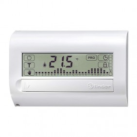 Chronothermostat Finder wall touch white...