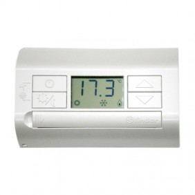 Finder Wall Thermostat White 1 Contact DC...