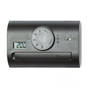 Finder Wall Thermostat Black DC 1 CONTACT...
