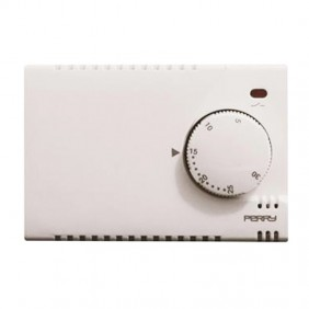Perry wall thermostat white power supply 230V...