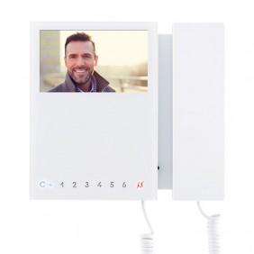 Videocitofono Comelit MINI con 8 Pulsanti Colore Bianco 6701W/8