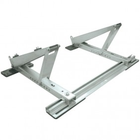 Bracket for Air Conditioners Tecnogas 800X480mm Inox for Sloping Roofs 11117