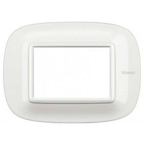 Bticino Axolute Placca 3 Moduli Bianco HB4803HD