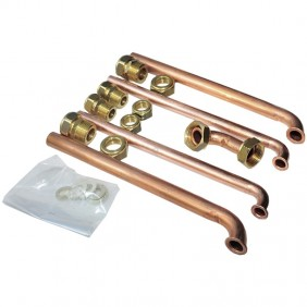 KIT Raccordi per Caldaie Ariston GENUS/CLAS/EGIS senza rubinetti 3318222