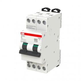 ABB compact circuit breaker S204C 6A 4P 6KA C 2...