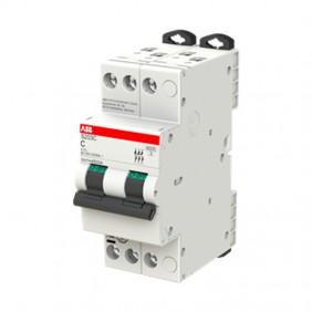 ABB compact circuit breaker S203C 20A 3P 6KA C...